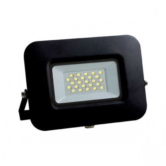 LED reflektor 10 W I-SERIES studená biela čierny 6000K