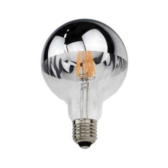 LED žiarovka 7W E27 Silver Glass