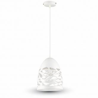 Závesná lampa hniezdo Biela