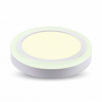 LED prisadený kruhový panel TWIN LED 18+3 W denná biela
