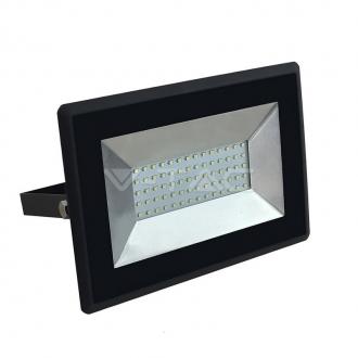 LED reflektor 6500K čierny 100W