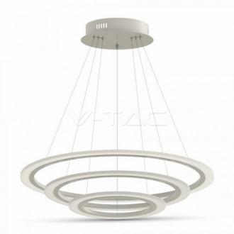 LED nástené visiace svietidlo 70W 3kruhy 4000K